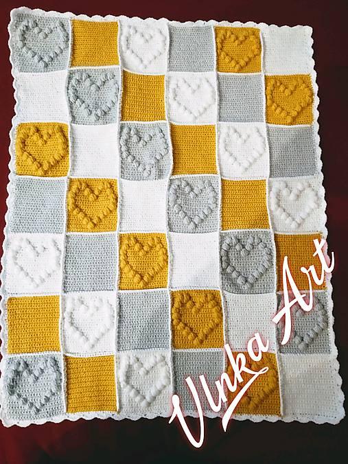 3f5d2749c Háčkované deky / VlnkaArt - SAShE.sk - Handmade Textil