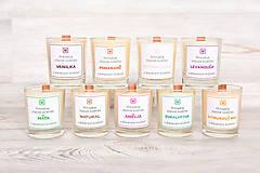 Svietidlá a sviečky - Sójová sviečka NATURAL - 10512495_