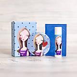 Drogéria - Darčekové balenie I. (mydlo, balzam, zrkadielko) - 10512508_