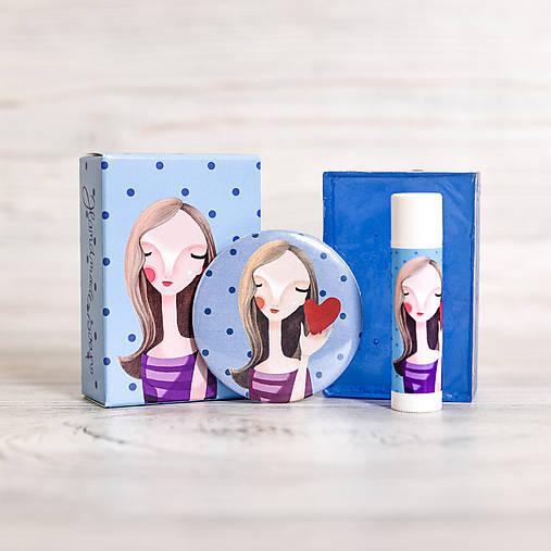 Darčekové balenie I. (mydlo, balzam, zrkadielko)