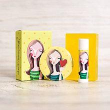 Drogéria - Darčekové balenie III. (mydlo, balzam, zrkadielko) - 10512607_