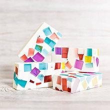 Drogéria - Mozaikové glycerínové mydlo I. - 10513611_