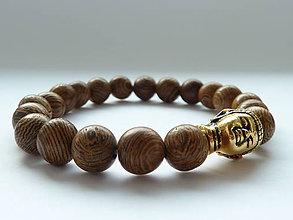 Náramky - náramek Natural Senna Siamea Wood - 10512819_