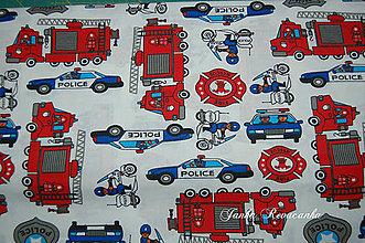 Textil - látka záchranári - 10514763_