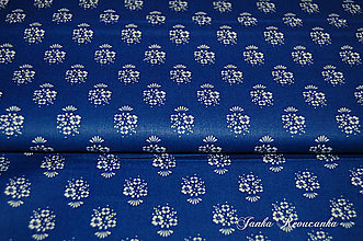 Textil - modrotlač - 10515090_