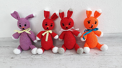 Hračky - zajačiky - super cena - 10513134_