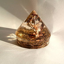 Dekorácie - ORGONIT  Diamant *Z darů moře*,3 - 10518540_
