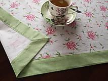 Úžitkový textil - Jarný obrus kuchynský - 10517122_