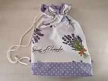 Iné tašky - Vrecúško na prezúvky - Lavender - 10517173_