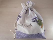 Iné tašky - Vrecúško na prezúvky - Lavender - 10517174_