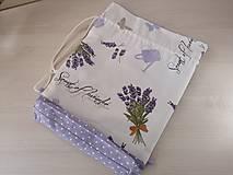 Iné tašky - Vrecúško na prezúvky - Lavender - 10517175_