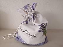 Iné tašky - Vrecúško na prezúvky - Lavender - 10517178_
