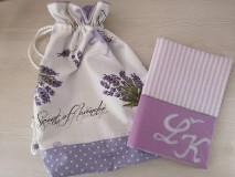 Iné tašky - Vrecúško na prezúvky - Lavender - 10517179_