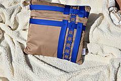 """Úžitkový textil - Dekoračný vankúš """"Preplet"""" - 10517733_"""