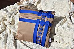 """Úžitkový textil - Dekoračný vankúš """"Preplet"""" - 10517737_"""