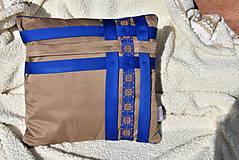 """Úžitkový textil - Dekoračný vankúš """"Preplet"""" - 10517738_"""