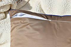 """Úžitkový textil - Dekoračný vankúš """"Preplet"""" - 10517745_"""