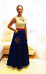 """Šaty - Spoločenské plesové šaty """"ako kysucký kroj"""" - 10517821_"""