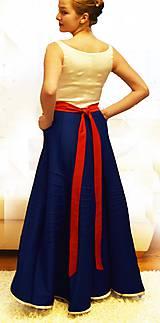 """Šaty - Spoločenské plesové šaty """"ako kysucký kroj"""" - 10517822_"""