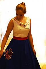 """Šaty - Spoločenské plesové šaty """"ako kysucký kroj"""" - 10517825_"""