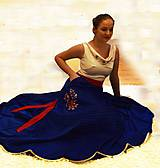 """Šaty - Spoločenské plesové šaty """"ako kysucký kroj"""" - 10517827_"""