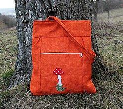 Veľké tašky - Muchotrávka - 10517120_