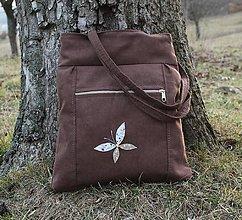 Veľké tašky - Motýľ - 10517208_