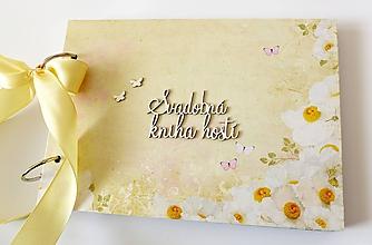 Papiernictvo - svadobná kniha hostí - 10515327_