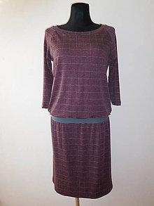 Šaty - S šedou linkou - 10515429_