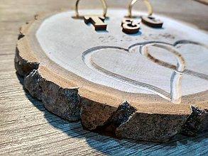 Prstene - vintage svadba/vankúšik pod svadobné prstene XXX - 10515708_