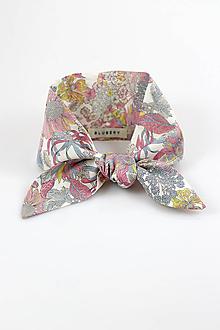 Šatky - Kvetinová dámska šatka