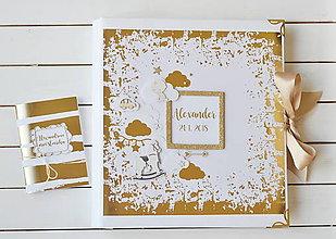 Papiernictvo - Vkladací fotoalbum pre chlapčeka - 10518586_