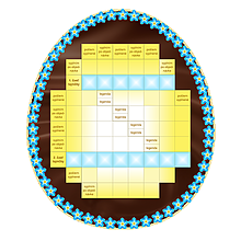 Grafika - Krížovkové čokoládové vajíčko s tajničkou na želanie - 10518423_