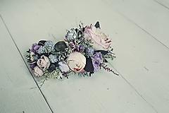 Ozdoby do vlasov - Polvenček Violet - 10517653_