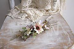 """Ozdoby do vlasov - Kvetinový hrebienok """"lúčny"""" - 10518282_"""