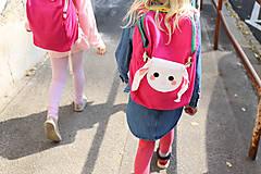 Detské tašky - nosha do školy - malina - 10515720_