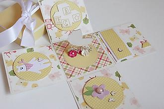 Papiernictvo - Krabička na peniažky pre dieťa - 10517401_
