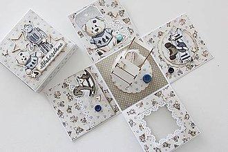 Papiernictvo - Krabička na peniažky pre dieťa - 10517435_