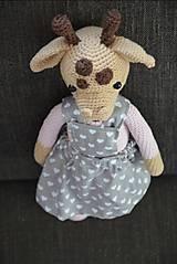 Hračky - Háčkovaná žirafka - 10515517_