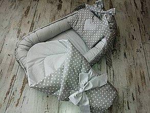 Textil - Hniezdo + letná zavinovačka - 10515654_