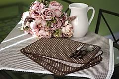 Úžitkový textil - Filki prešívané prestieranie - 10515305_