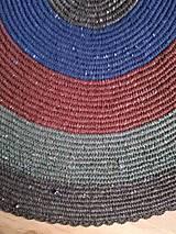 Úžitkový textil - Recy chalupársky koberček - 10520133_