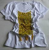 Tričká - Bielo-žlté - 10519711_