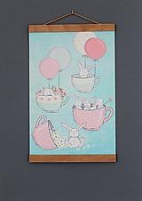 Grafika - -50%Print na plátne BUNNY N.5 verzia A2 - 10521461_