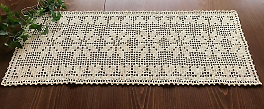 Úžitkový textil - Prírodná štóla - 10520882_