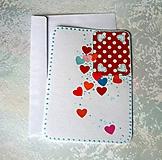 Papiernictvo - Pohľadnica  Srdcováááá - 10519750_