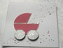 Papiernictvo - Pohľadnica...narodilo sa dievčatko :-) - 10519915_