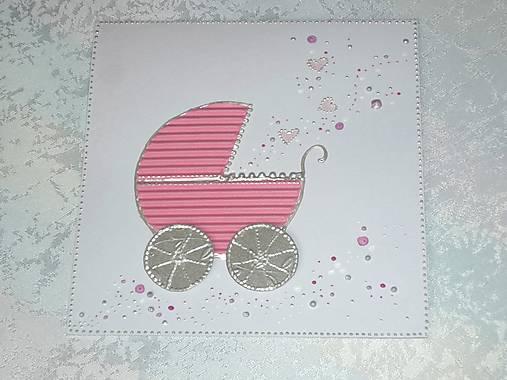 Pohľadnica...narodilo sa dievčatko :-)
