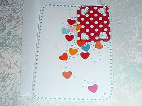 Papiernictvo - Pohľadnica  Srdcováááá - 10519758_