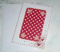 Papiernictvo - Pohľadnica - srdiečka - 10519795_